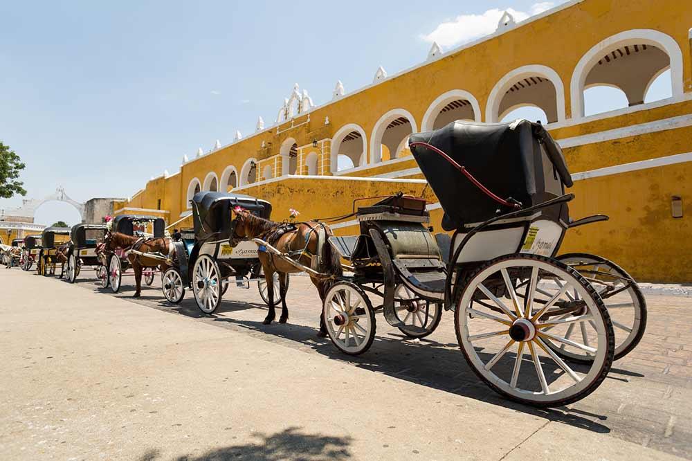 Yellow city of Izamal