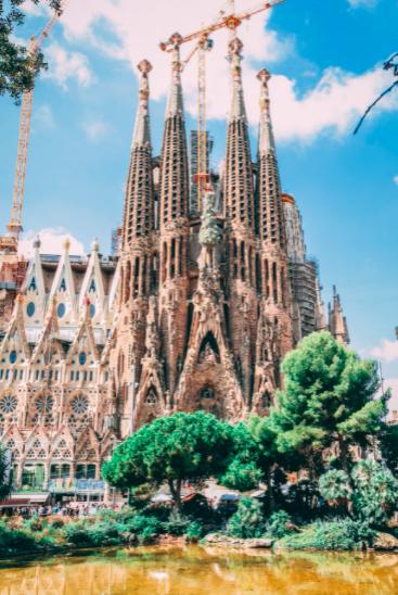 The Sagrada Familia (fish) of Barcelona