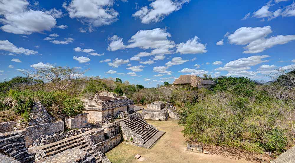 Mayan ruins of Ek Balam