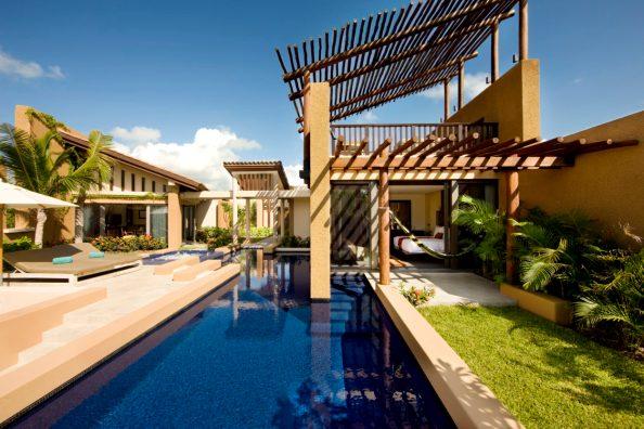Spa Pool Villa in Banyan Tree Mayakoba;  photo courtesy of Banyan Tree Mayakoba