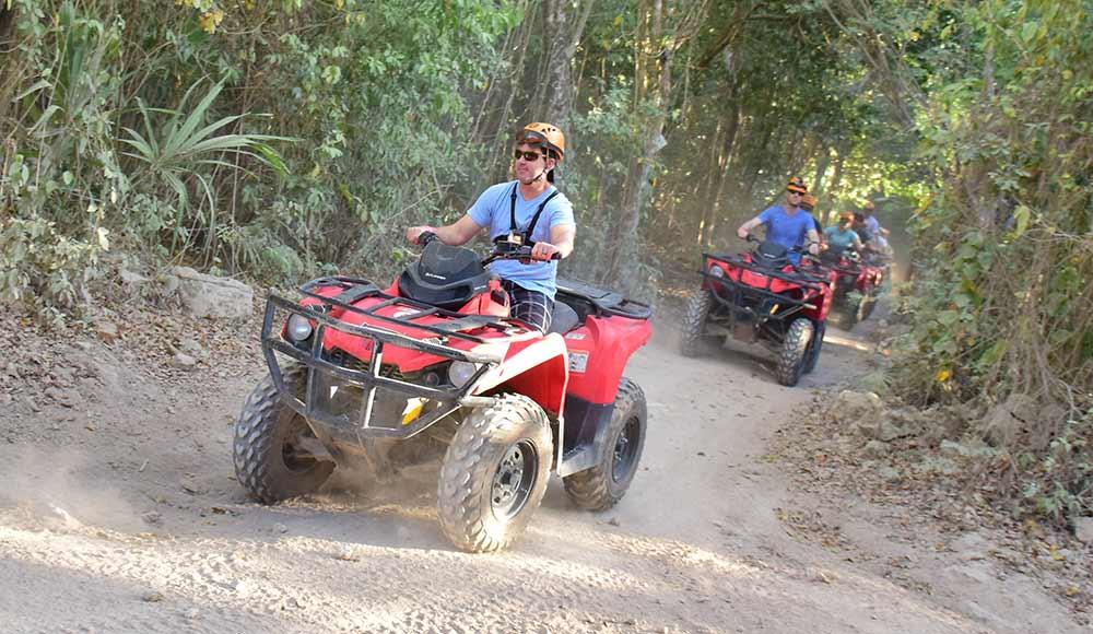 ATV tour near Playa del Carmen