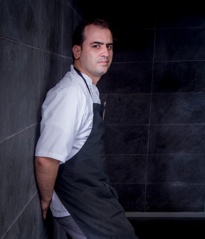 Chef Jonathan Gómez Luna