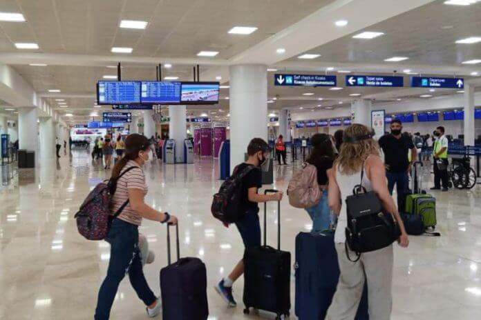 427 Cancun airport operations scheduled for today, August 23rd