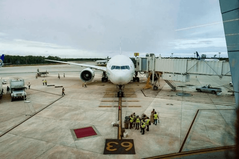flights from Cancun airport